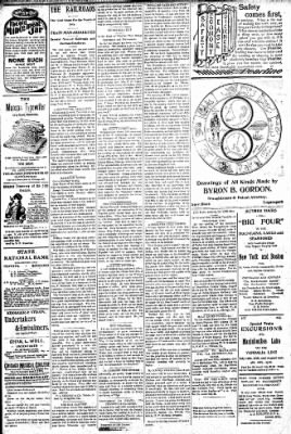 Logansport Pharos-Tribune from Logansport, Indiana on August 15, 1896 · Page 3