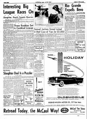 The Courier News from Blytheville, Arkansas on April 13, 1954 · Page 8