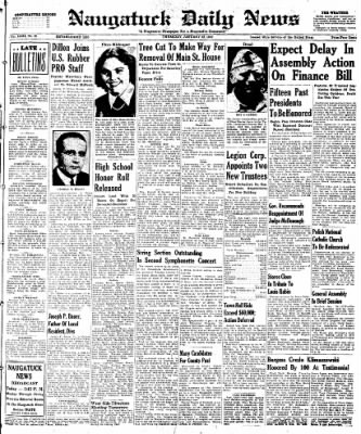 Naugatuck Daily News from Naugatuck, Connecticut on January 23, 1947 · Page 1