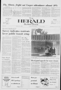 Sample The Buffalo Grove Herald front page