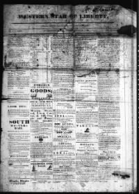 Sample Western Star of Liberty front page