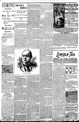 Logansport Pharos-Tribune from Logansport, Indiana on August 16, 1896 · Page 7