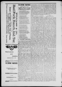 Sample Cheyenne Transporter front page