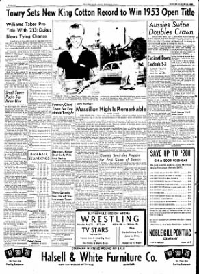 The Courier News from Blytheville, Arkansas on August 24, 1953 · Page 6