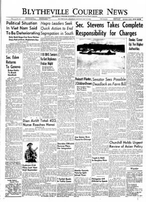 The Courier News from Blytheville, Arkansas on May 24, 1954 · Page 1