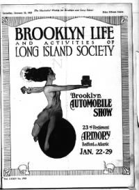 Sample Brooklyn Life and Activities of Long Island Society front page