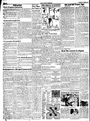 Alton Evening Telegraph from Alton, Illinois on June 16, 1960 · Page 6
