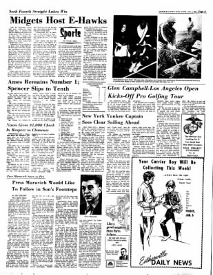 Estherville Daily News from Estherville, Iowa on January 4, 1973 · Page 6