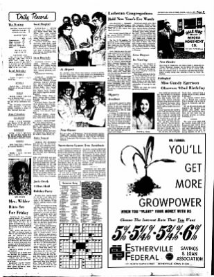Estherville Daily News from Estherville, Iowa on January 4, 1973 · Page 8