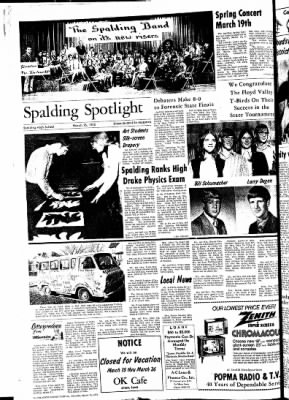 The Sioux County Capital from Orange City, Iowa on March 16, 1972 · Page 8