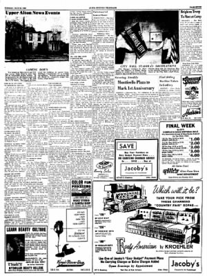 Alton Evening Telegraph from Alton, Illinois on July 26, 1960 · Page 7