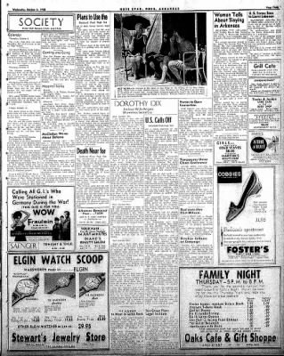 Hope Star from Hope, Arkansas on October 8, 1958 · Page 3