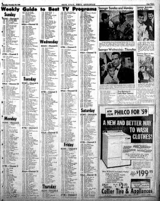 Hope Star from Hope, Arkansas on November 29, 1958 · Page 3
