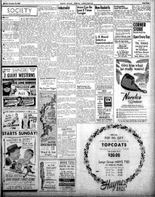 Hope Star from Hope, Arkansas on December 19, 1958 · Page 3