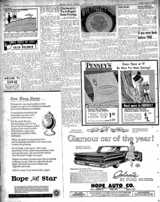 Hope Star from Hope, Arkansas on January 5, 1959 · Page 6