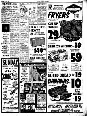 Alton Evening Telegraph from Alton, Illinois on July 5, 1963 · Page 9