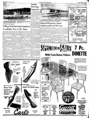 Alton Evening Telegraph from Alton, Illinois on August 14, 1963 · Page 22