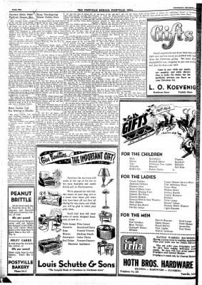 Postville Herald from Postville, Iowa on December 3, 1947 · Page 1