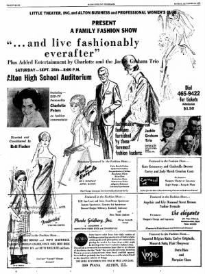 Alton Evening Telegraph from Alton, Illinois on September 23, 1963 · Page 12