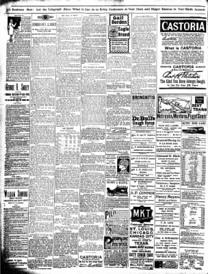 Alton Evening Telegraph from Alton, Illinois on December 17, 1898 · Page 8