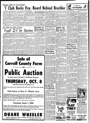 Carrol Daily Times Herald from Carroll, Iowa on October 5, 1959 · Page 2