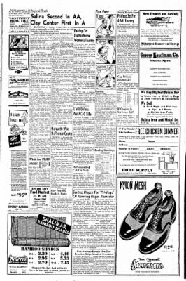 The Salina Journal from Salina, Kansas on May 9, 1954 · Page 35