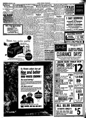 Alton Evening Telegraph from Alton, Illinois on January 18, 1950 · Page 7