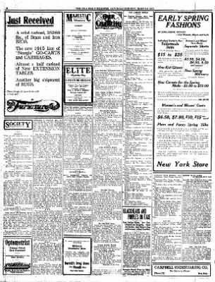 The Iola Register from Iola, Kansas on March 6, 1915 · Page 2