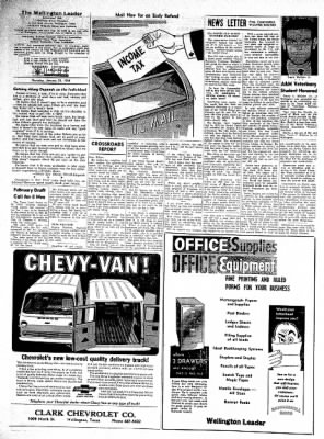 The Wellington Leader from Wellington, Texas on January 23, 1964 · Page 6