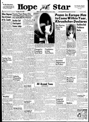 Hope Star from Hope, Arkansas on June 15, 1961 · Page 1