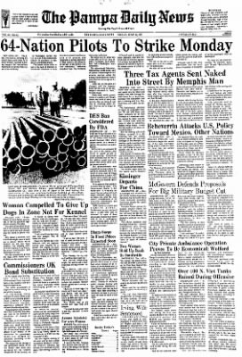 Pampa Daily News from Pampa, Texas on June 16, 1972 · Page 1