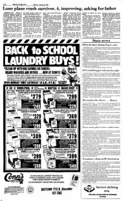 The Baytown Sun from Baytown, Texas on August 24, 1987 · Page 16