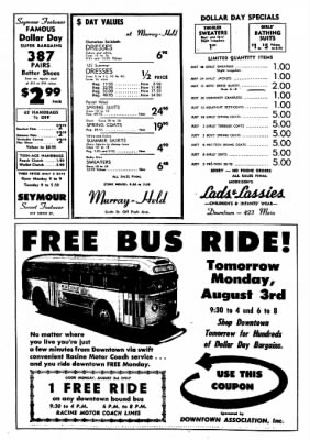 The Racine Journal-Times Sunday Bulletin from Racine, Wisconsin on August 2, 1959 · Page 39