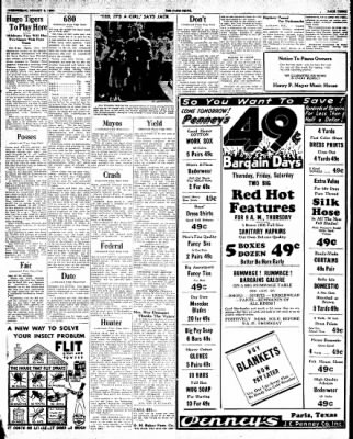 The Paris News from Paris, Texas on August 8, 1934 · Page 3