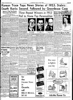 The Courier News from Blytheville, Arkansas on December 29, 1953 · Page 5