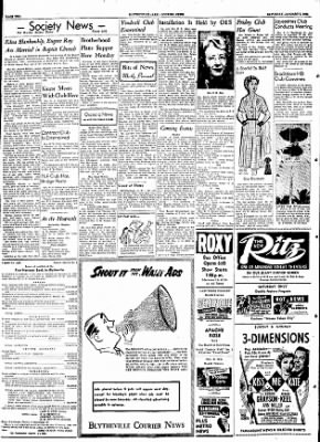 The Courier News from Blytheville, Arkansas on January 9, 1954 · Page 2