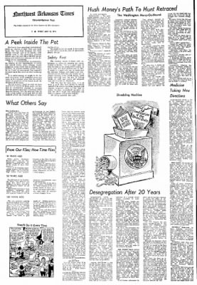 Northwest Arkansas Times from Fayetteville, Arkansas on May 10, 1974 · Page 4