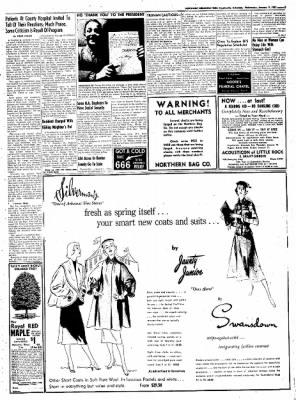 Northwest Arkansas Times from Fayetteville, Arkansas on January 9, 1952 · Page 3