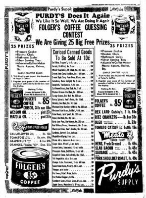 Northwest Arkansas Times from Fayetteville, Arkansas on January 24, 1952 · Page 11
