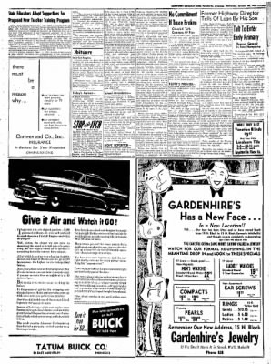 Northwest Arkansas Times from Fayetteville, Arkansas on January 30, 1952 · Page 3