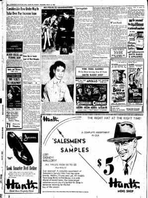 Northwest Arkansas Times from Fayetteville, Arkansas on March 12, 1952 · Page 10