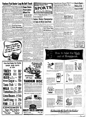 Northwest Arkansas Times from Fayetteville, Arkansas on March 24, 1952 · Page 7