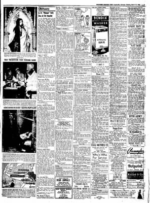 Northwest Arkansas Times from Fayetteville, Arkansas on March 31, 1952 · Page 9