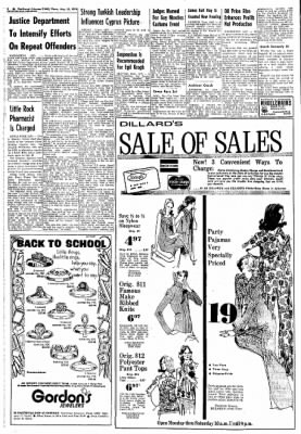 Northwest Arkansas Times from Fayetteville, Arkansas on August 22, 1974 · Page 8