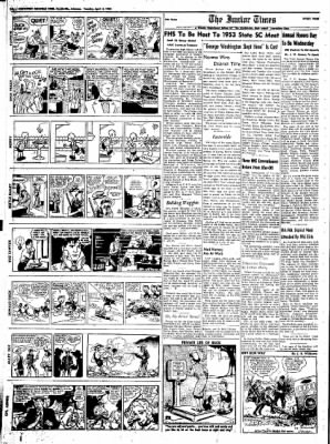Northwest Arkansas Times from Fayetteville, Arkansas on April 8, 1952 · Page 10