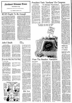 Northwest Arkansas Times from Fayetteville, Arkansas on August 29, 1974 · Page 4