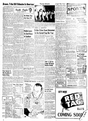 Northwest Arkansas Times from Fayetteville, Arkansas on April 19, 1952 · Page 7