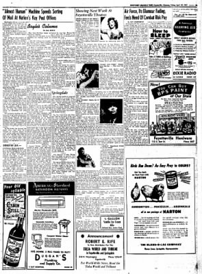 Northwest Arkansas Times from Fayetteville, Arkansas on April 25, 1952 · Page 5