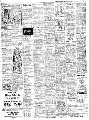 Northwest Arkansas Times from Fayetteville, Arkansas on April 26, 1952 · Page 9