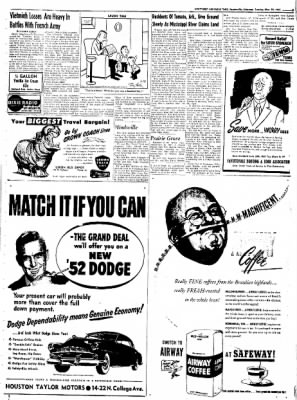 Northwest Arkansas Times from Fayetteville, Arkansas on May 20, 1952 · Page 5